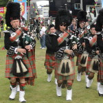 Clan Hay Pipe Band at Bannockburn Live