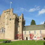 Crathes Castle, seat of Clan Burnett