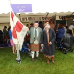 Hank and Suzanne Collins at the Clan Hay tent